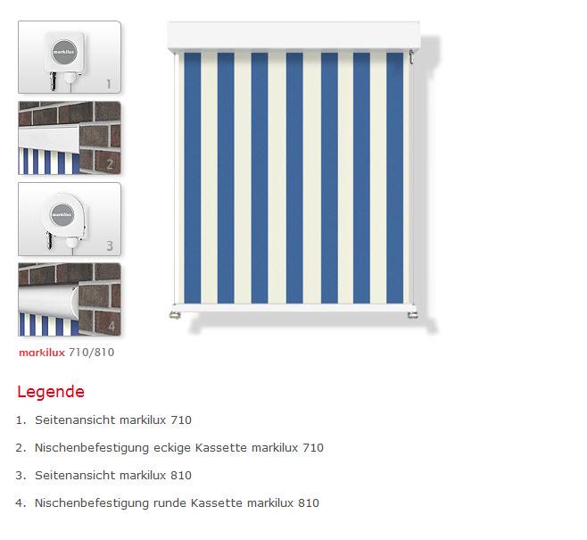 Fenster Bad Zurzach : markilux 710810 « Geniale Beschattungsmöglichkeiten für den